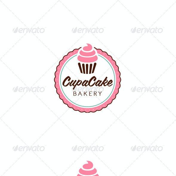 Cupacake Logo Template