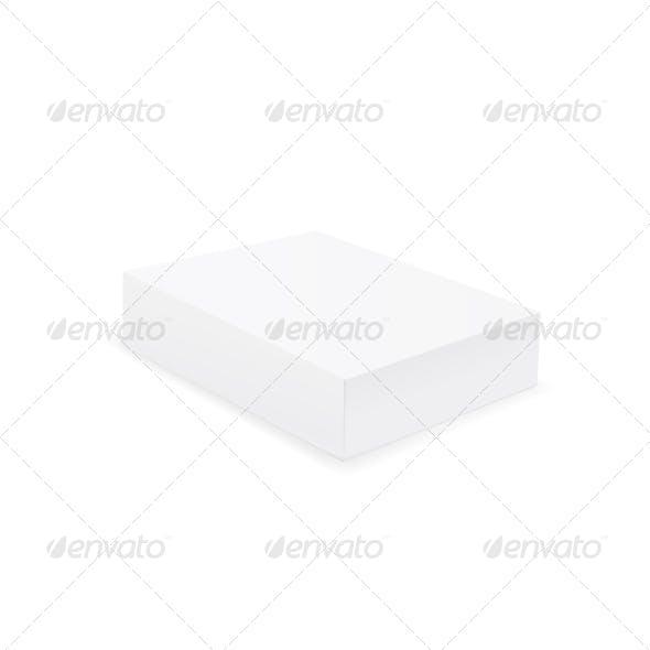 White Box. Vector