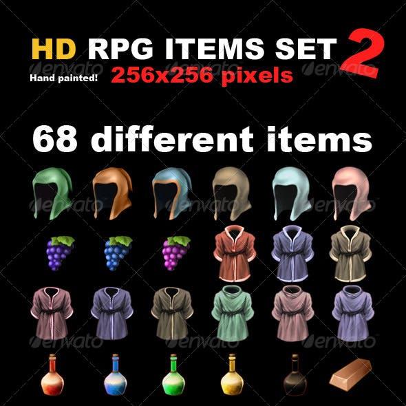 68 HD RPG Items