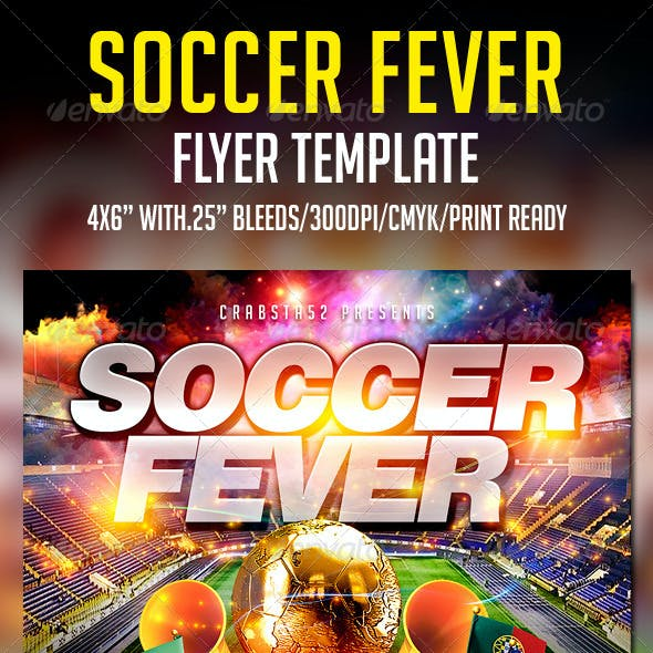 Soccer Fever Flyer Template