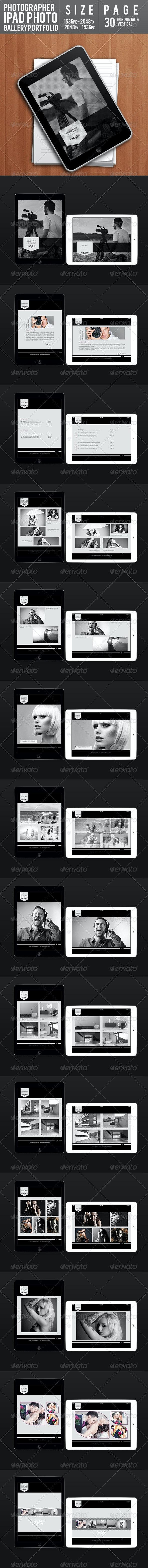 Photographer Ipad Photo Gallery Portfolio