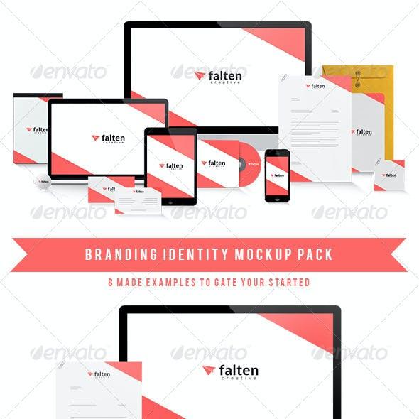 Branding Identity Mockup Pack