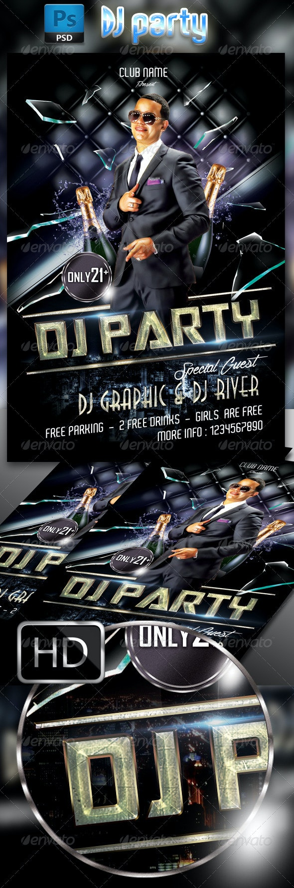 DJ Party - Clubs & Parties Events