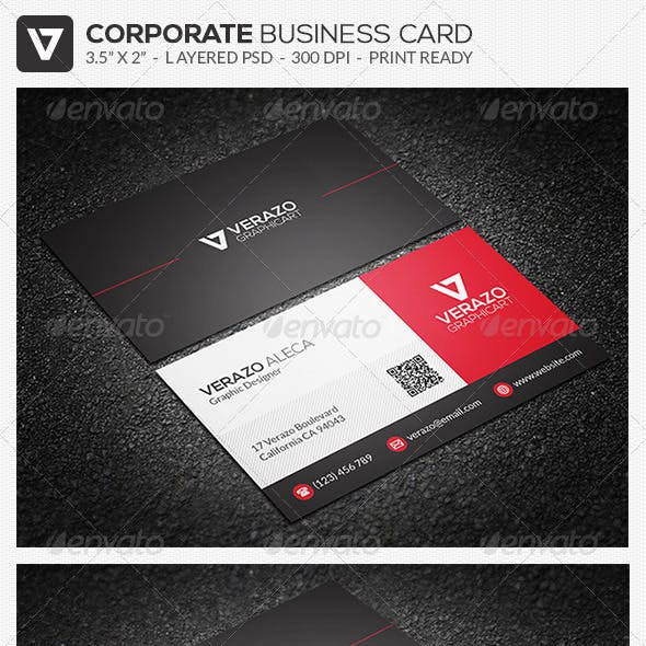 Modern Corporate Business Card 33