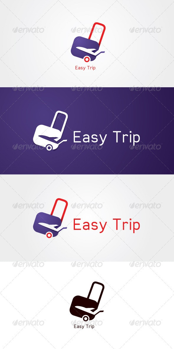 Easy Trip Stock Logo Template - Objects Logo Templates
