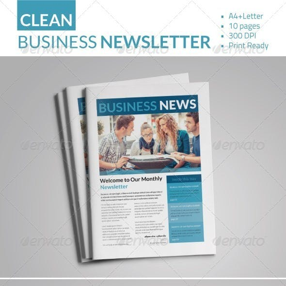 Business Newsletter V1
