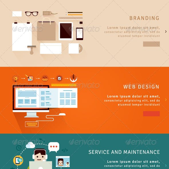 Web Design and Branding Concepts