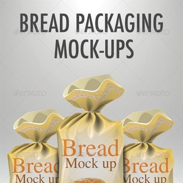 Bread packaging mock-up