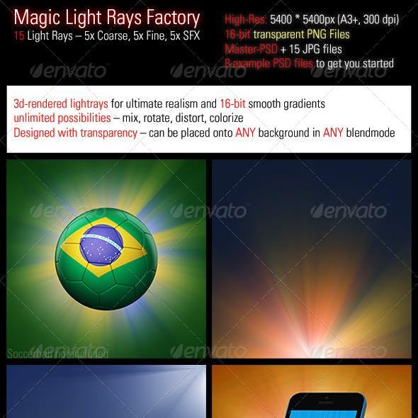 Magic Light Rays Factory