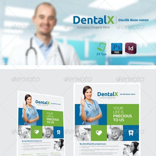 Dentist Flyer Templates