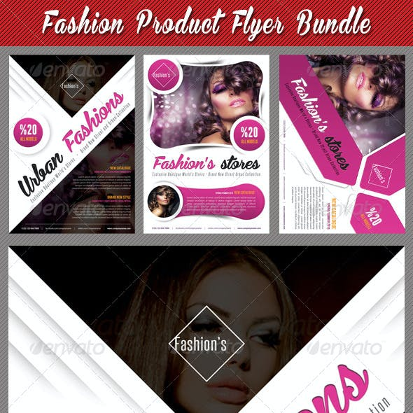 3 in 1 Fashion Product Flyer Bundle 19
