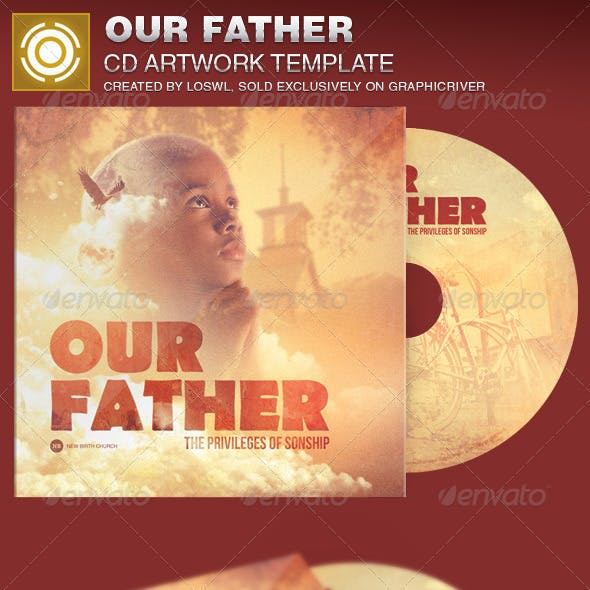 Our Father CD Artwork Template