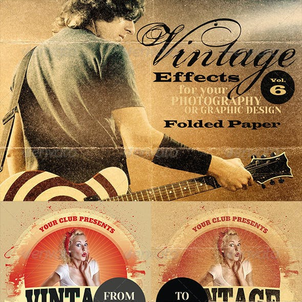 Vintage Effects for Photo, Designs 6