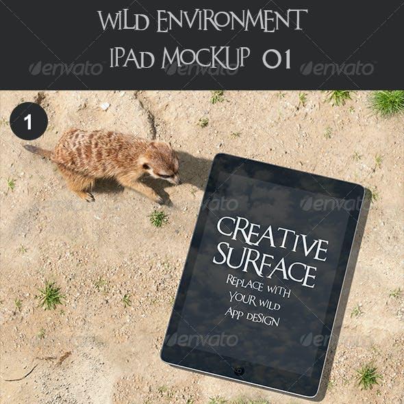 Wild Environment Ipad Mock Up's 01