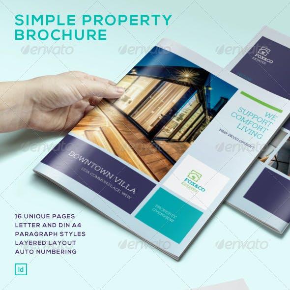 Simple Property Bruchure