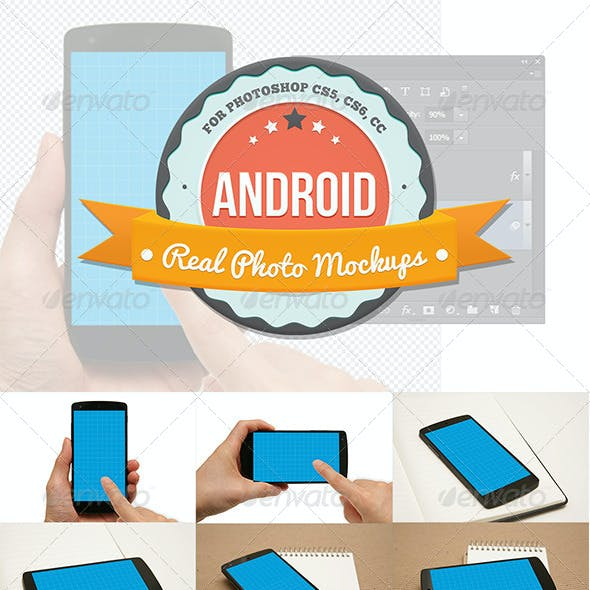 8 Android Mockups