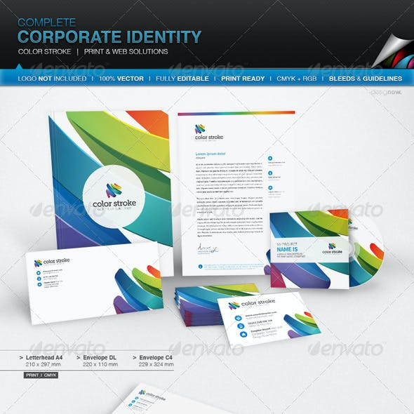 Corporate Identity - Color Stroke