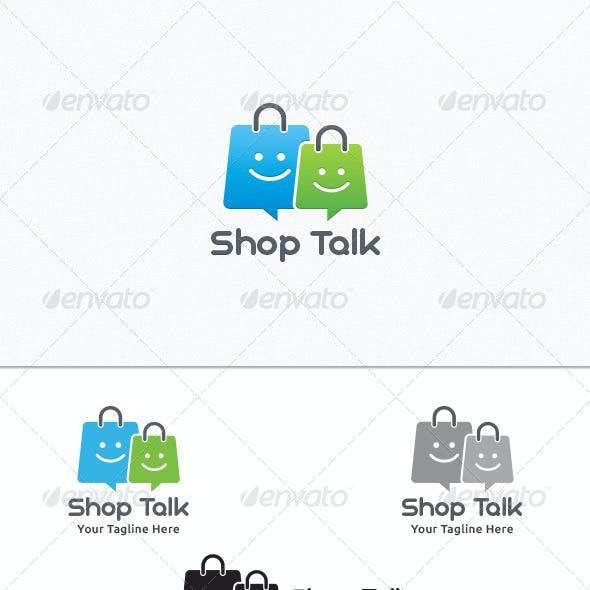 Shop Talk - Logo Template