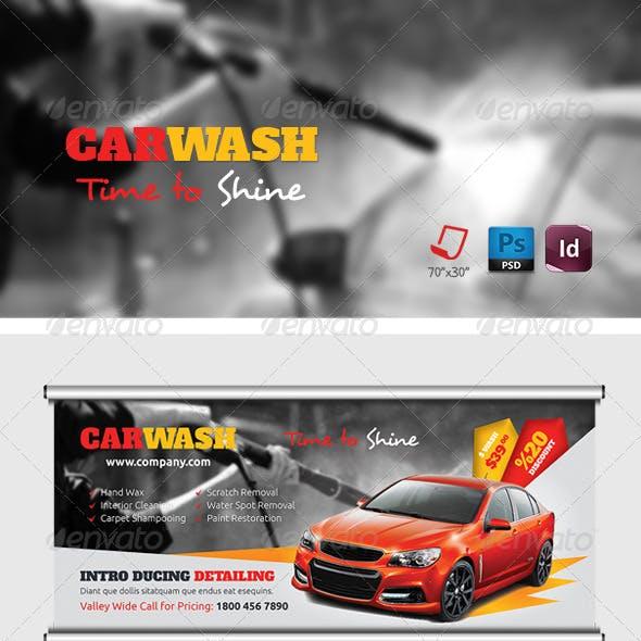 Car Wash Billboard Templates