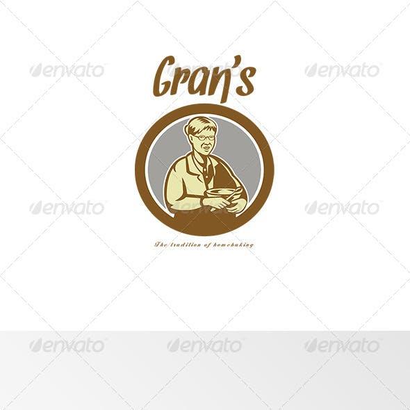 Gran's Traditional Homebaking Logo