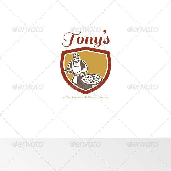 Tony's Italian Restaurant and Pizzeria Logo
