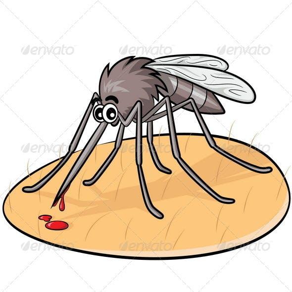 Mosquito Cartoon