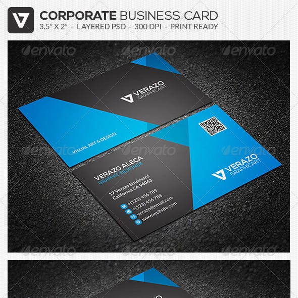 Modern & Stylish Business Card 34