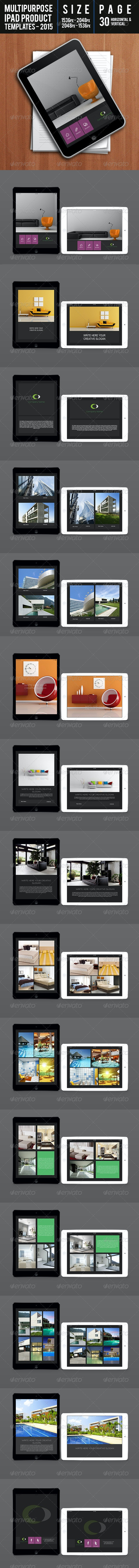 Multipurpose Ipad Product Templates 2015 - Digital Magazines ePublishing