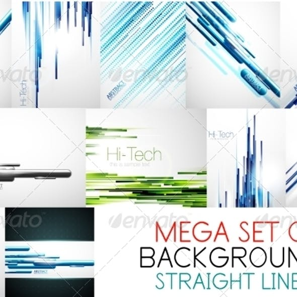 Collection of Straight Lines Backgrounds