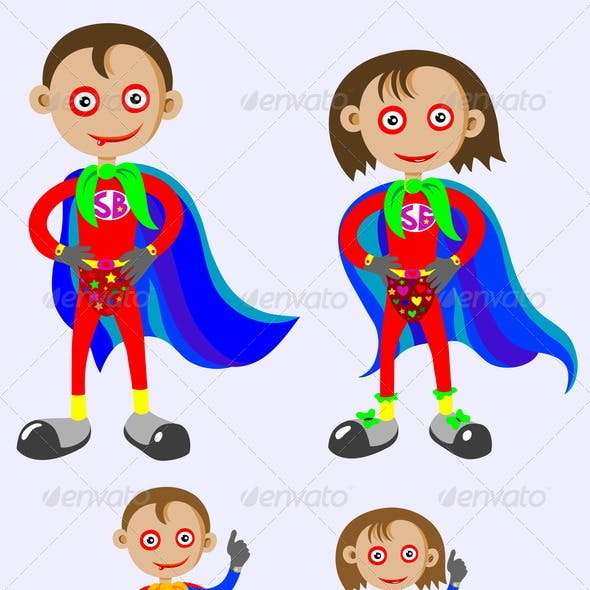 Super Boy and Super Girl