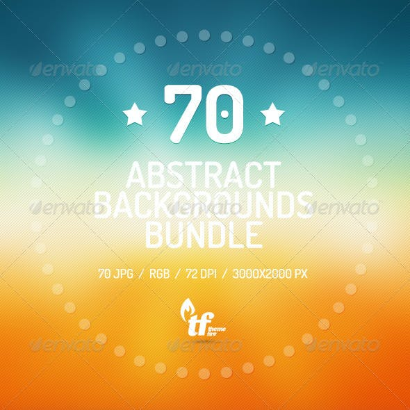70 Abstract Backgrounds Bundle