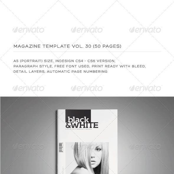 A5 Portrait 50 Pages MGZ (Vol. 30)