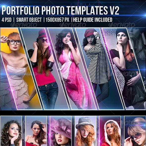 Portfolio Photo Templates V2