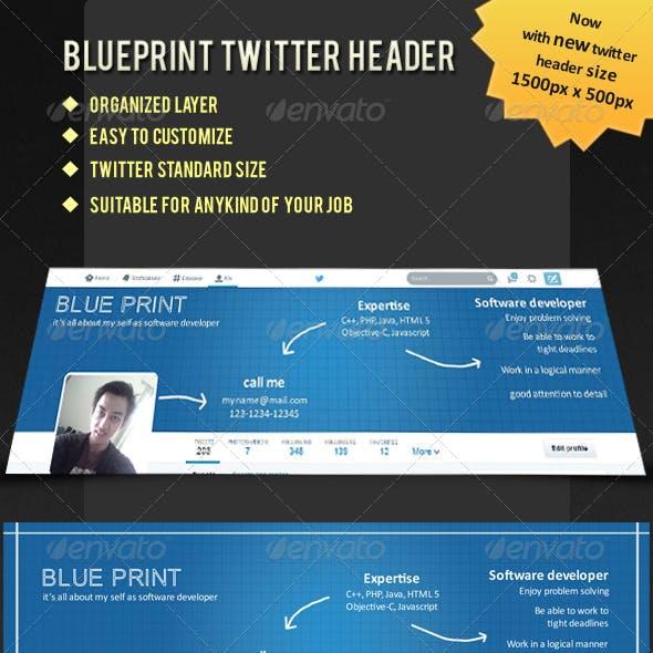 Blueprint Twitter Header