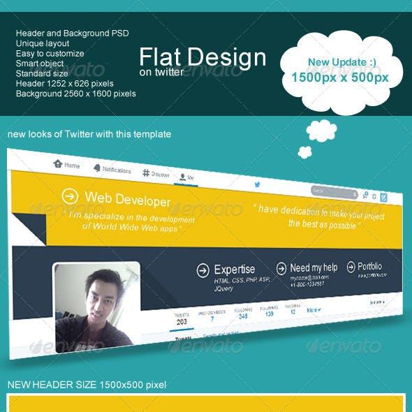 Flat Design on Twitter