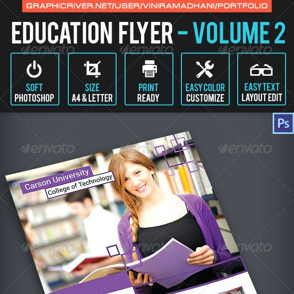 Education Flyer Volume 2