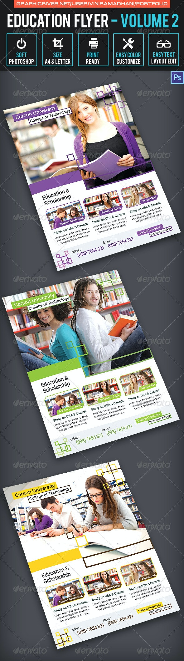 Education Flyer Volume 2 - Corporate Flyers