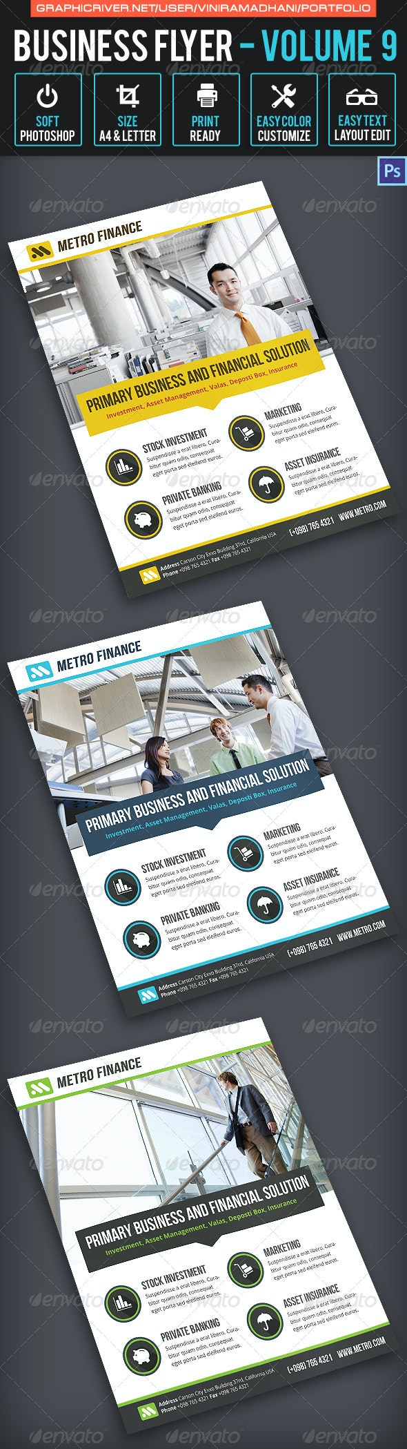 Business Flyer Volume 9 - Corporate Flyers
