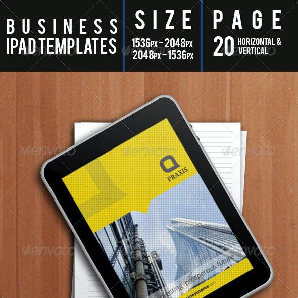 Business Ipad Templates