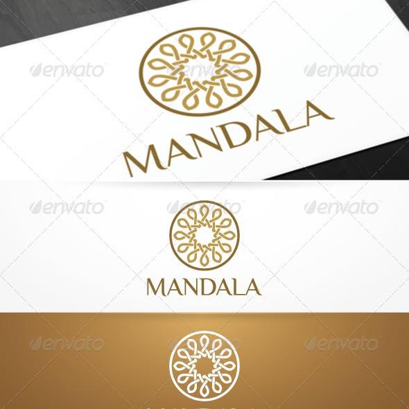 Mandala - Yoga Logo Template
