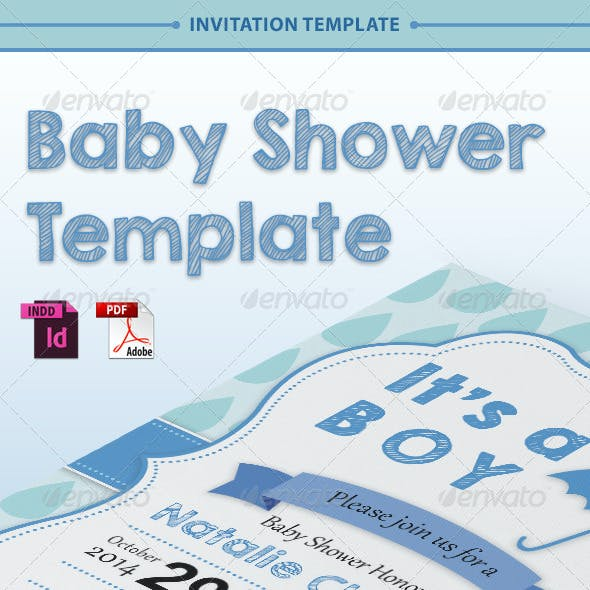 Baby Shower Template - Vol. 2