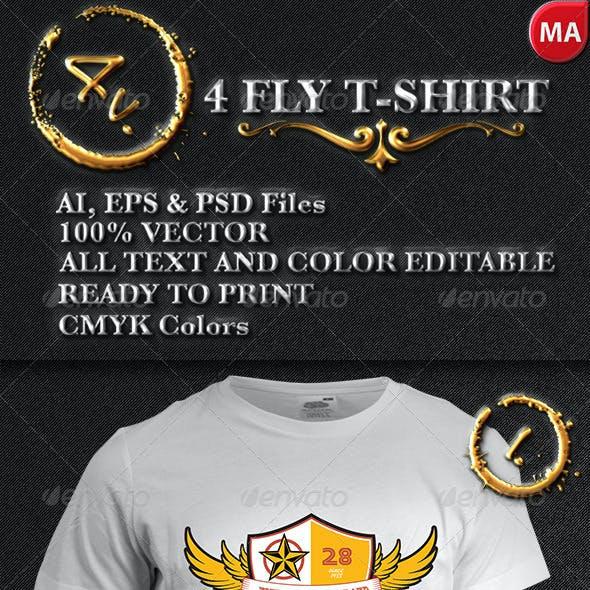 4 Fly T-Shirt