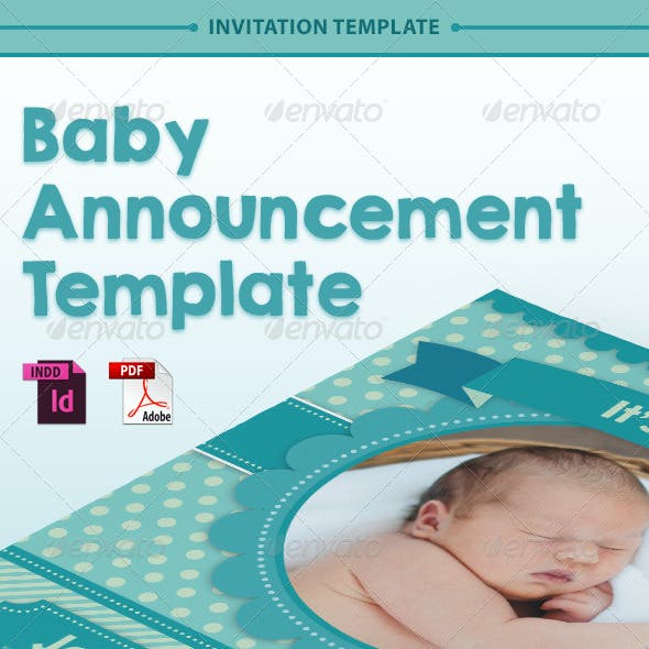 Baby Announcement Template - Vol.1
