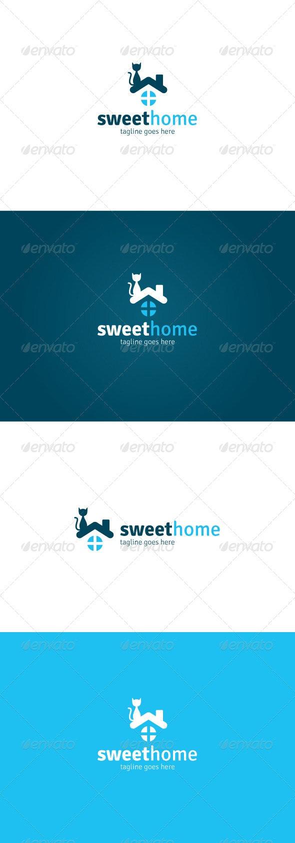 Sweet Home Logo - Animals Logo Templates