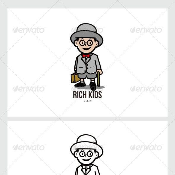 Rich Kids Logo Mascot