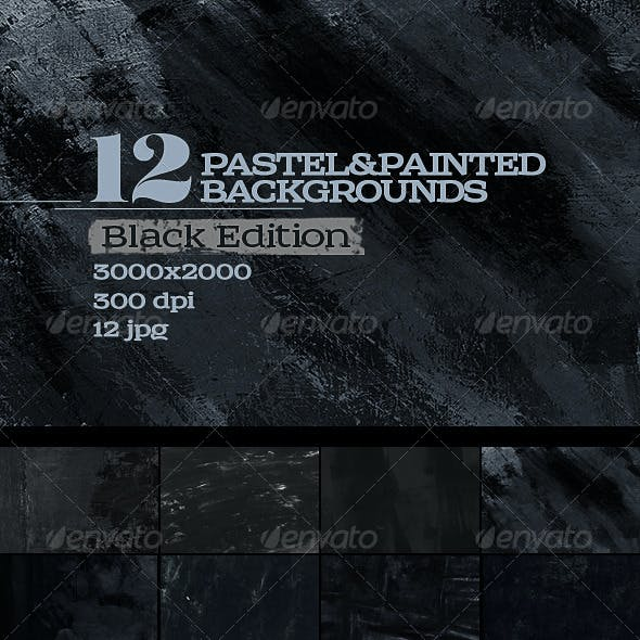 12 Pastel & Painted Backgrounds