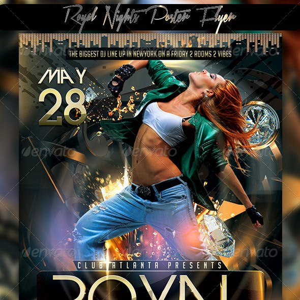 Royal Nights Poster Flyer