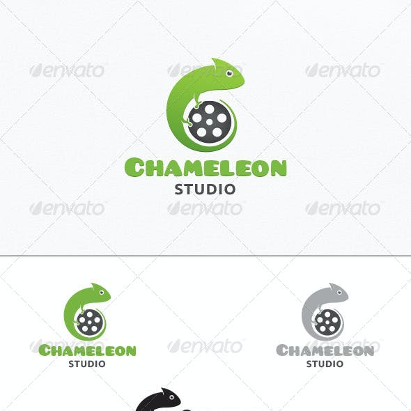 Chameleon Logo Graphics Designs Templates From Graphicriver