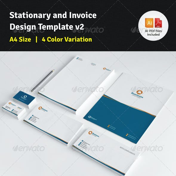 Nice Invoice Graphics Designs Templates From Graphicriver