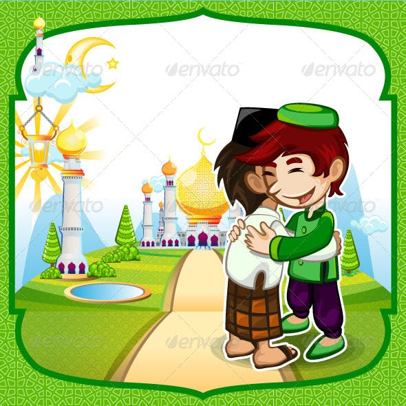 Forgiveness Eid Mubarak Greeting Card
